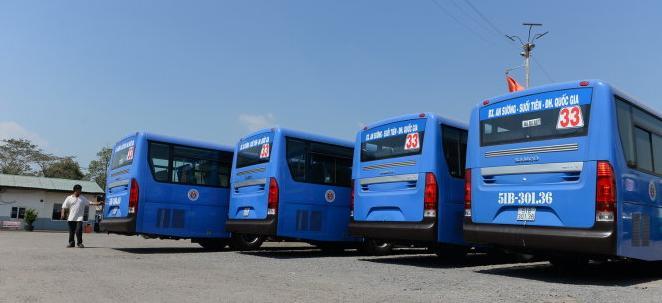 TP. HCM đưa vào hoạt động 2 tuyến xe buýt thân thiện môi trường