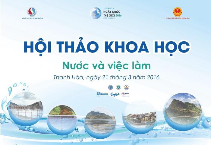 Ngày nước thế giới 2016: Nước và việc làm