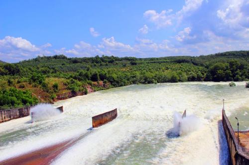 Hồ Dầu Tiếng lo không đủ nước giúp Sài Gòn đẩy mặn