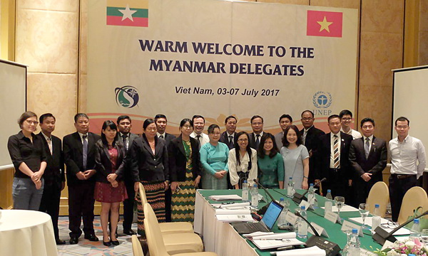 Myanmar - Việt Nam chia sẻ kinh nghiệm ứng phó với biến đổi khí hậu