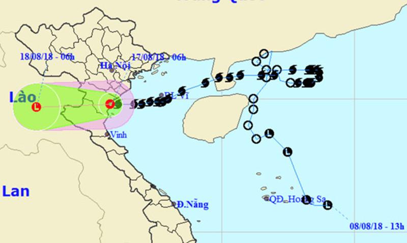 Ngành KTTV đã cung cấp thông tin dự báo, cảnh báo thường xuyên và kịp thời về bão số 4