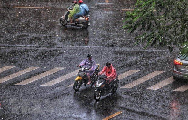 Dự báo thời tiết ngày 14/5: Khu vực Miền Bắc có mưa rào và dông